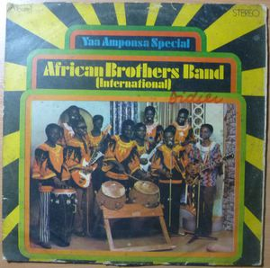 AFRICAN BROTHERS BAND INTERNATIONAL - Yaa amponsa special - LP