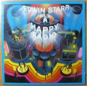 EDWIN STARR - H.a.p.p.y. radio - LP