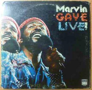 MARVIN GAYE - Live! - LP Gatefold