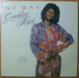 GERALDINE HUNT - No way - LP