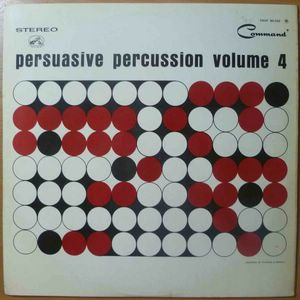 ENOCH LIGHT AND THE ALL-STARS - Persuasive percussionVolume 4 - LP