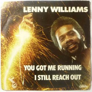 LENNY WILLIAMS - You got me running / I still reach out - 7inch (SP)