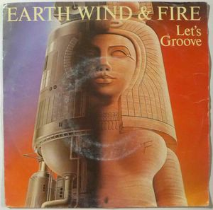 EARTH WIND & FIRE - Let's groove - 7inch (SP)
