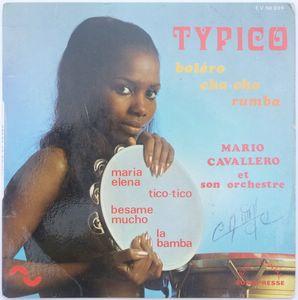 MARIO CAVALLERO ET SON ORCHESTRE - Typico (4 tracks) - 7inch (EP)