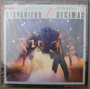 JACOB F. DESVARIEUX / GEORGES DECIMUS - Same - LP