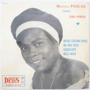 MANUELA PIOCHE - chante Leone Marelie (4 tracks) - 7inch (EP)