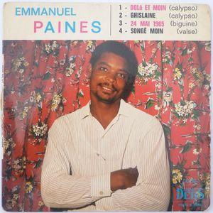 EMMANUEL PAINES - Dolo et moin (4 tracks) - 7inch (EP)
