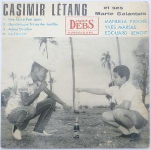 CASIMIR LETANG & SES MARIE GALENTAIS - Une nuit a Port Louis (4 tracks) - 7inch (EP)
