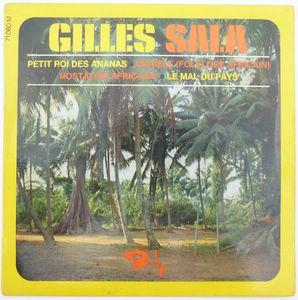GILLES SALA - Nostalgie africaine (4 tracks) - 7inch (EP)