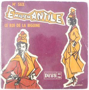 EMILIEN ANTILE - Vaudou / Vive la Biguine - 7inch (SP)
