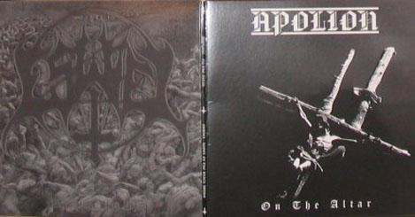 APOLION / ESWIEL - Split Ep. Black Vinyl - 7inch Gatefold