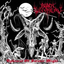 BLACK WITCHERY - Upheaval Satanic Might - CD