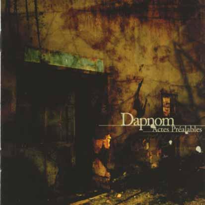 DAPNOM - Actes Préalables - CD