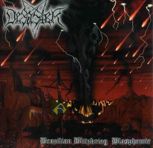 DESASTER - Brazilian Blitzkrieg Blasphemies - CD