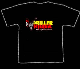 DRILLER KILLER - The 4Q Mangrenade. XL Size - T-shirt