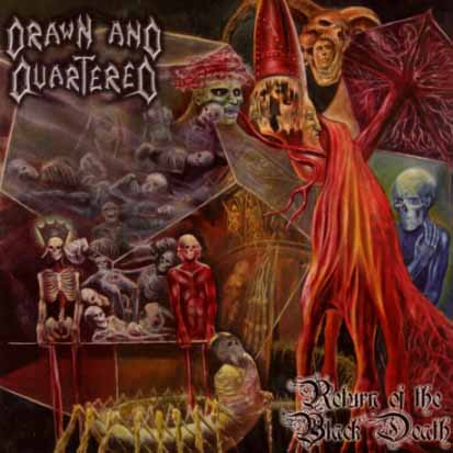 drawn and quartered return of the black death cd for sale on