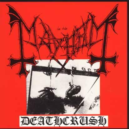 MAYHEM - Deathcrush - CD Maxi