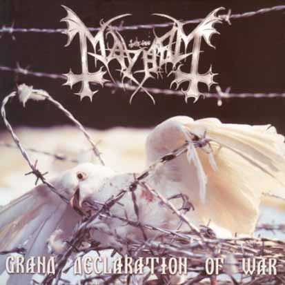 MAYHEM - Grand Declaration Of War - CD