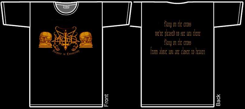MORD - Rejoice In Extinction. M Size. - T-shirt