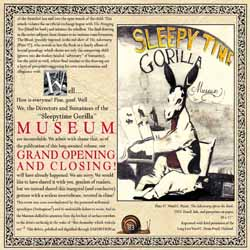 SLEEPYTIME GORILLA MUSEUM - Grand Opening And Closing - CD + bonus