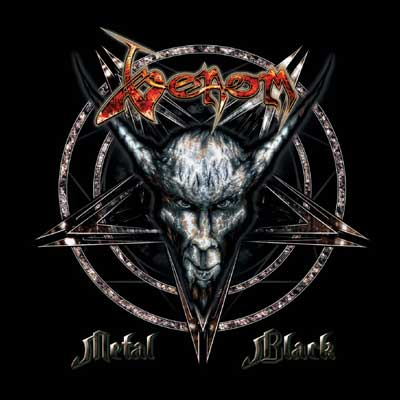 VENOM - Metal Black - CD
