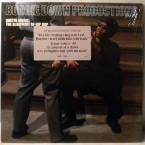 BOOGIE DOWN PRODUCTIONS - Ghetto Music: The Blueprint Of Hip Hop - LP
