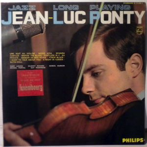 Jean-Luc Ponty Et Son Quartet Jazz Long Playing