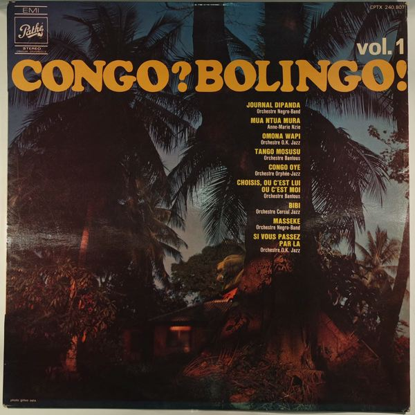 VARIOUS - Congo? Bolingo! - LP