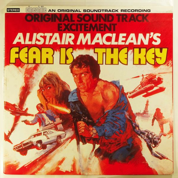 ROY BUDD - Fear Is The Key - LP