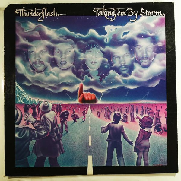 THUNDERFLASH - Takin' them by storm - LP