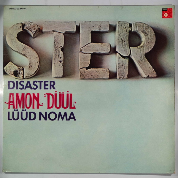 AMON DUUL - Disaster / Luud Noma - LP x 2