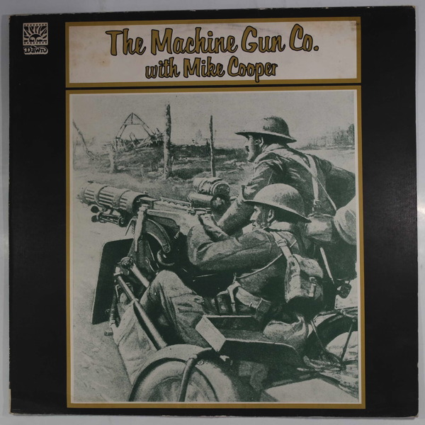 THE MACHINE GUN CO. - With Mike Cooper - LP