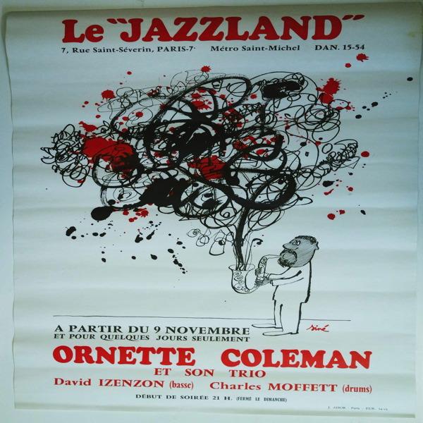 ORNETTE COLEMAN ET SON TRIO live at the jazzland paris (sine poster ...