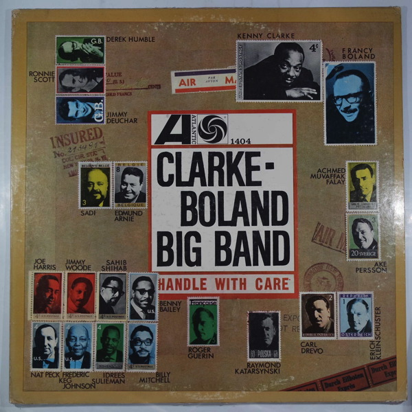 CLARKE-BOLAND BIG BAND - Handle With Care - LP