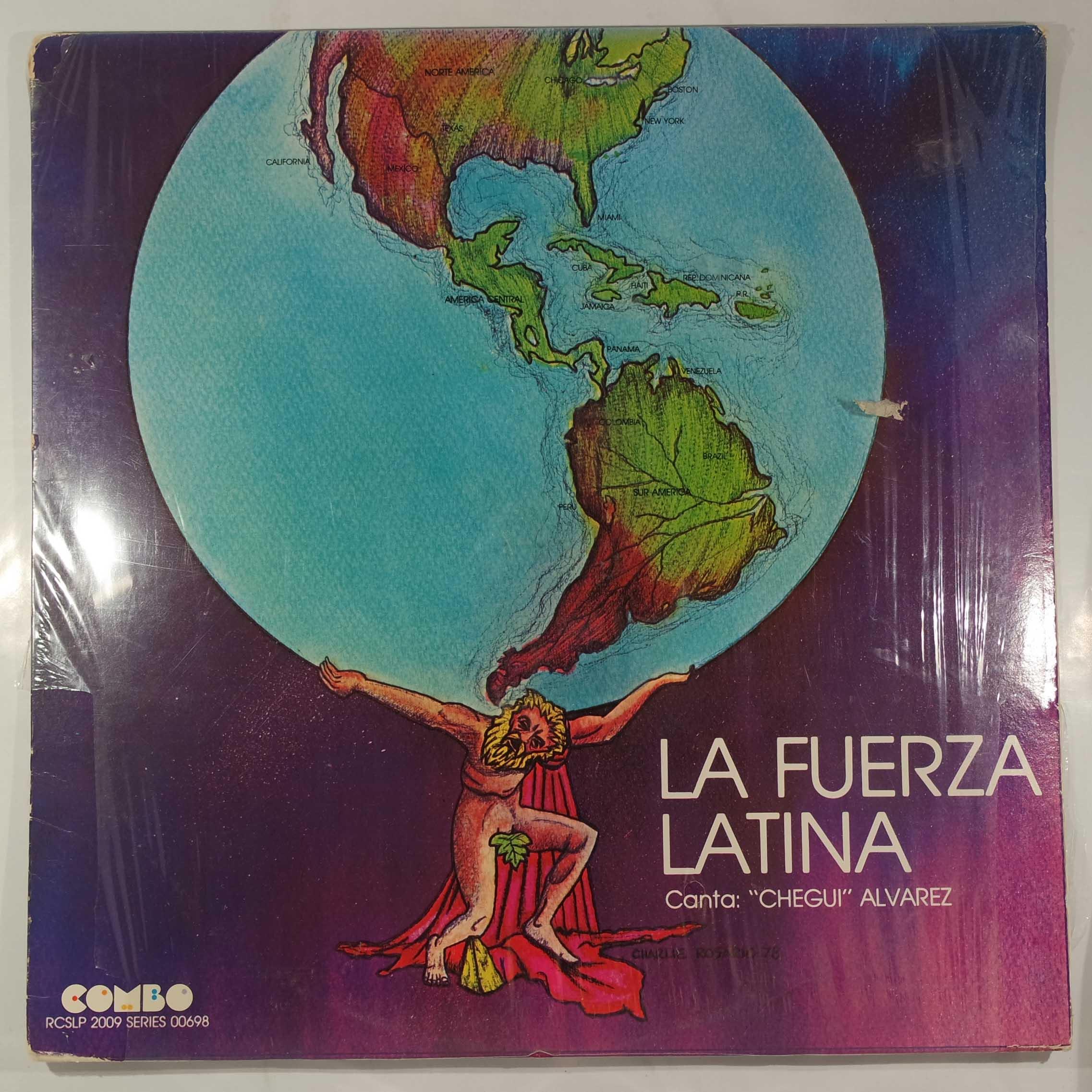 LA FUERZA LATINA - Same - LP