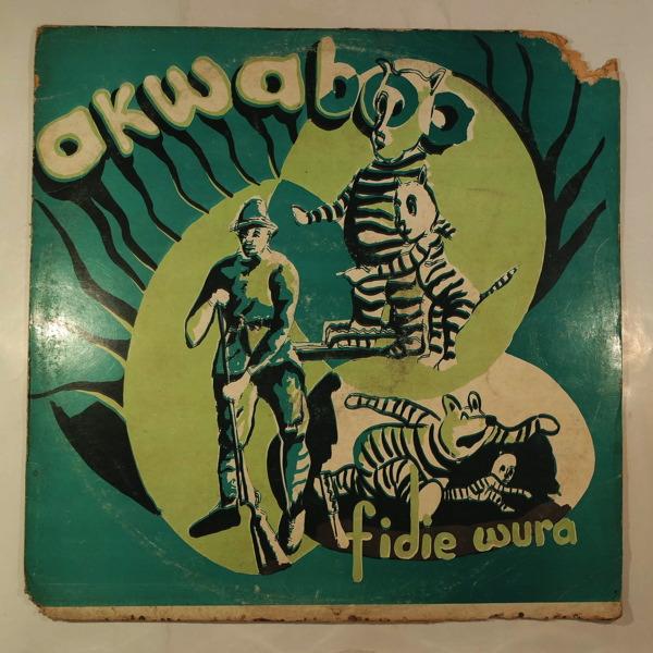 AKWABOA'S BAND - Fidie wura - LP