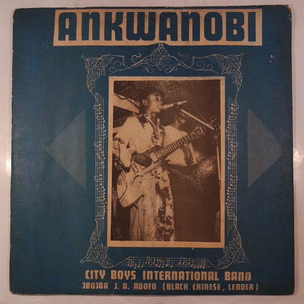 CITY BOYS INTERNATIONAL BAND - Ankwanobi - LP