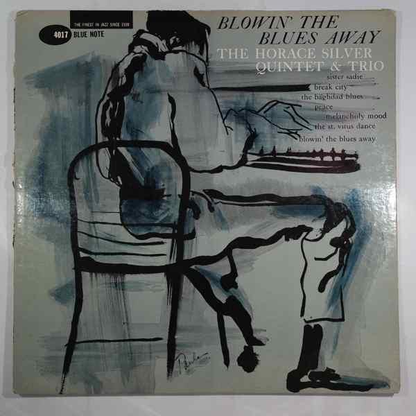 HORACE SILVER QUINTET - Blowin' The Blues Away - LP
