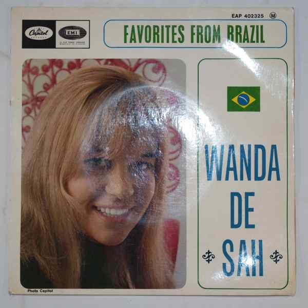 WANDA DE SAH - Favorites From Brazil - 7inch (SP)