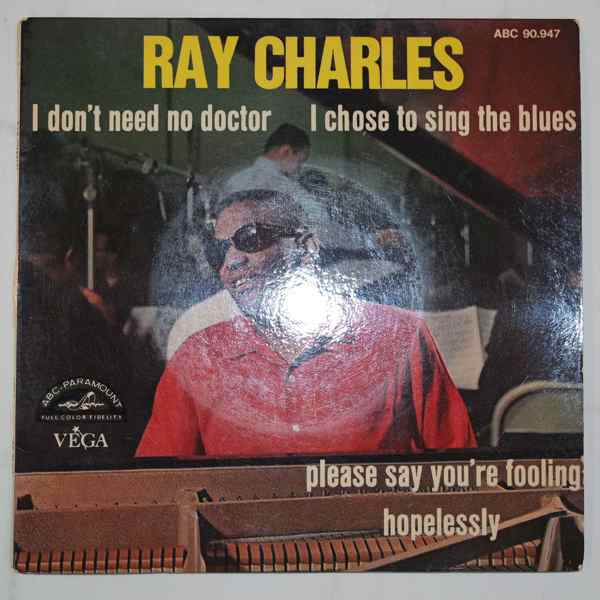Ray Charles I Don't Need No Doctor + 3