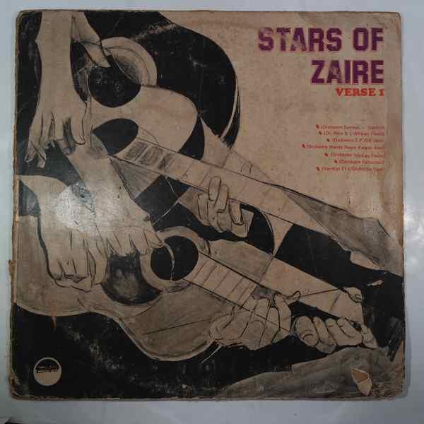 VARIOUS - Stars of Zaire Verse 1 - LP