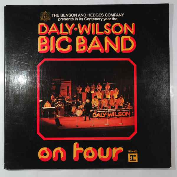 THE DALY-WILSON BIG BAND - On Tour - LP