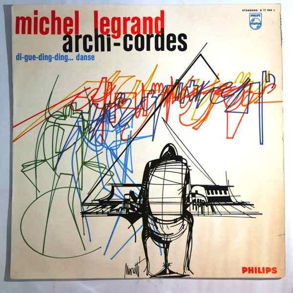 MICHEL LEGRAND - Archi-Cordes - LP
