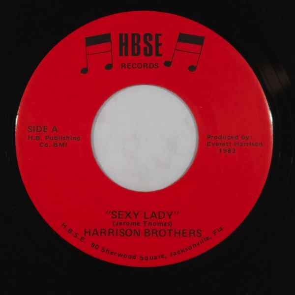 HARRISON BROTHERS - Sexy lady - 7inch (SP)