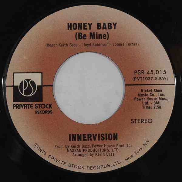 INNERVISION - Honey Baby / We're Innervision - 7inch (SP)