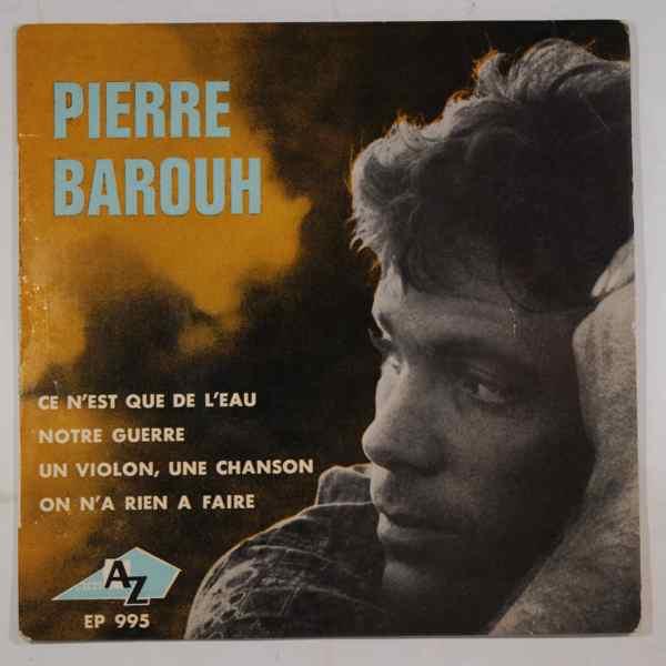 PIERRE BAROUH - Ce n'est que de l'eau EP - 7inch (SP)