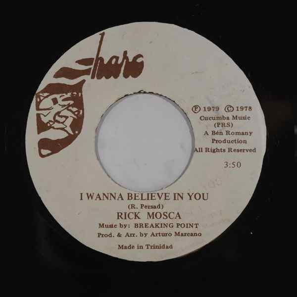 RICK MOSCA - I wanna believe in you - 7inch (SP)
