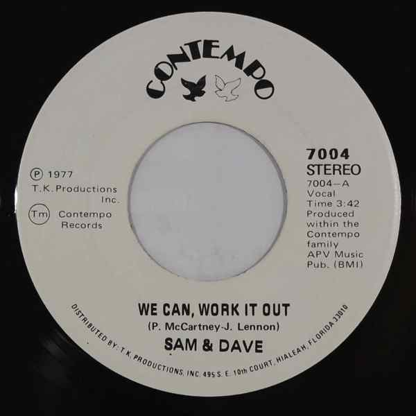 Sam & Dave We can work it out / Why did you do it