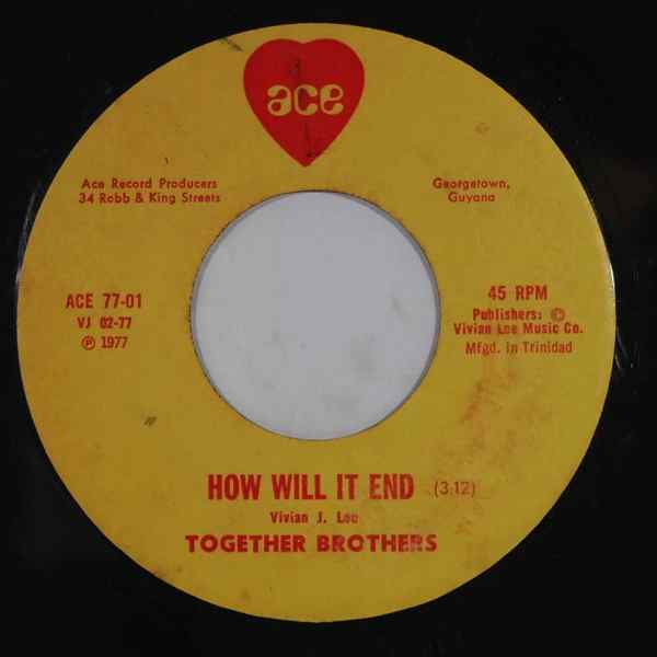 TOGETHER BROTHERS - How will it end - 7inch (SP)