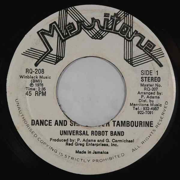 Universal Robot Band Dance And Shake Your Tambourine